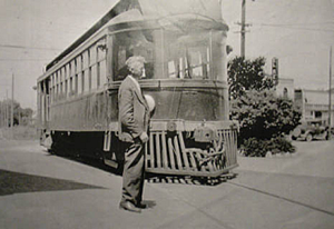 P&SR Railroad car