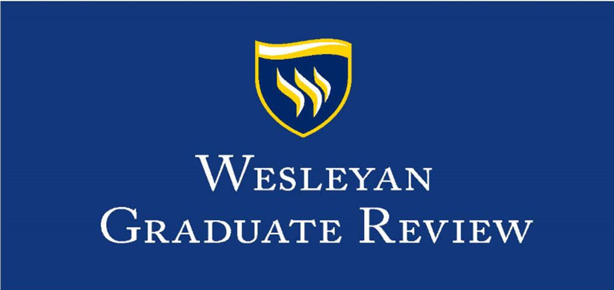 Wesleyan Graduate Review logo.